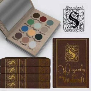 Harry Potter Storybook Matte Eye Shadow Wizardry and Witchcraft 12 Colors Makeup Palette Eyeshadow