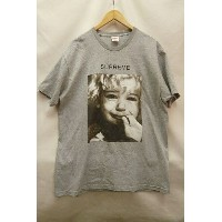 Supreme シュプリーム 15AW Crybaby Tee クライベイビー フォトプリント Tシャツ グレー【SIZE:XL】【送料無料】【中古】