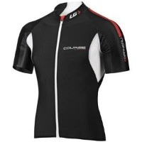 LOUIS GARNEAU(ルイガノ) COURSE RACE JERSEY 3820683M5V7 BLACK/GINGER/WHITE M