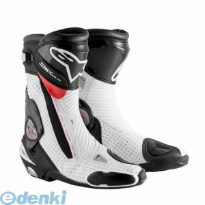 アルパインスターズ(alpinestars) [8051194747136] SMX PLUS BOOT 1015 128 BLACK WHITE RED VENTED サイズ:48【送料無料】
