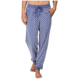 Carole Hochman Jogger Style Pants with Flocking