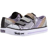 SKECHERS KIDS Shuffles 10628L Lights (Little Kid/Big Kid)