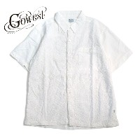 GOWEST(ゴーウエスト) SLIT SHIRTS / PAISLEY EMBROIDERY【送料無料】 / gowest / トップス / シャツ
