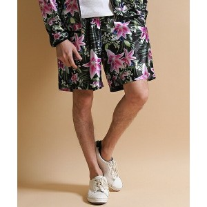 【JOY RICH(ジョイリッチ)】Optical Garden Shorts ショーツ
