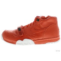 NIKE AIR TRAINER 1 MID SP/ FRAGMENT 806942-881 rust/rust-white エア トレイナー 未使用品【中古】