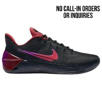 (取寄)ナイキ メンズ コービー A.D. Nike Men's Kobe A.D. Black University Red Hyper Violet