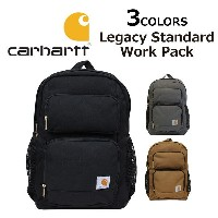 CARHARTT/カーハート Legacy Standard Work Pack/レガシースタンダードワークパック バックパック190321 デイパック/リュックサック/バッグ/カバン/鞄メンズ...