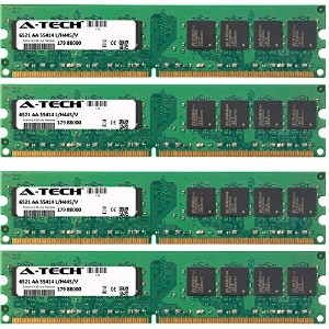 4GB キット (4 x 1GB) For ソニー Vaio VGC Series VGC-RM91S2. DIMM DDR2 NON-ECC PC2-3200 400MHz RAM Memory....