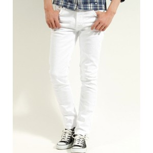 【Nudie Jeans(ヌーディージーンズ)】LEAN DEAN CLEAN WHITE デニムパンツ