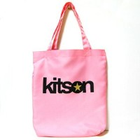 ■【kitson】キットソン スタートートバッグ エコバッグ ピンク 3259