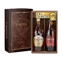 THE CHOYA 2本セット(箱入) 洋酒・リキュール e.デパートギフトセレクション リカー
