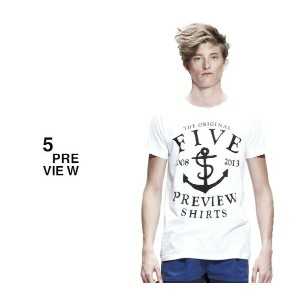 5PREVIEW (ファイブプレビュー) NEW HOPE T-SHIRT (WHITE) [Tシャツ/カットソー/UNISEX] [ホワイト]