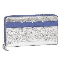 (トリーバーチ) TORY BURCH トリーバーチ 財布 TORY BURCH 31943 433 T SCALLOP METALLIC ZIP CONTINENTAL WALLET 長財布...