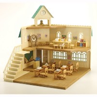シルバニアファミリー 人形 小学校 Calico Critters Berry Grove Elementary School