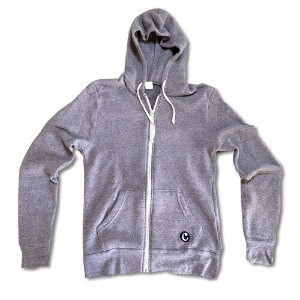 RHC Ron Herman (ロンハーマン):Chillax A/W Zip Up Hoody Gray