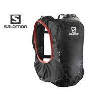 【nightsale】 SALOMON/サロモン L37996800 SKIN PRO 10 SET 【フリーサイズ】(BLACK/BRIGHT RED)