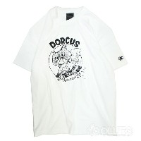 DORCUS(ドーカス)Z ON FIRE T-SHIRTS(Tシャツ)WHITE(白)