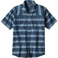 パタゴニア Patagonia メンズ トップス 半袖シャツ【Bandito Shirts】Shorelines Small/Big Sur Blue