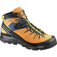 サロモン Salomon メンズ ハイキング シューズ・靴【X Alp Mid LTR GTX Boots】Navy Blazer/Bright Marigold/Empire Yellow