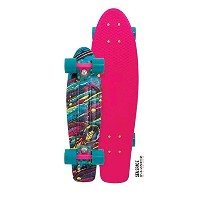 【Penny Board- The Original Penny Skateboard- Summer Edition- 22 Sea Space Retro Cruiser by Penny...