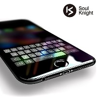 【 iPhone 7 Plus 専用 】Soul Knight iPhone7 Plus ガラスフィルム 全面 液晶保護フィルム 【 3D Touch対応 / 硬度9H / 気泡防止 】 5...