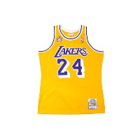 ●MITCHELL&NESS AUTHENTIC THROWBACK JERSEY (NBA/LOS ANGELES LAKERS/07-08/KOBE BRYANT: YELLOW)ミッチェル...
