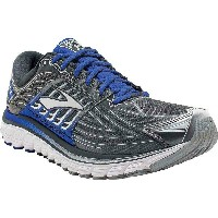 ブルックス メンズ ランニング シューズ・靴【Brooks Glycerin 14 Shoe】Anthracite / Electric Brooks Blue / Silver
