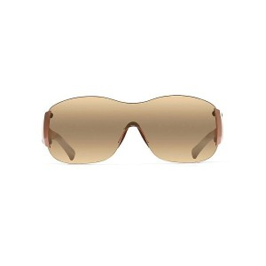 マウイジム メンズ アクセサリー メガネ・サングラス【Maui Jim Kula Polarized Sunglasses】Metallic Gloss Copper / HCL Bronze