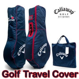[Callaway] Korea Golf Air Cover/ Golfbag/ Halfbag airport tour carrier case black and Red color...
