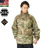 実物 新品 米軍ECWCS GEN3 Level6 GORE-TEX ジャケット MultiCam【WIP03】