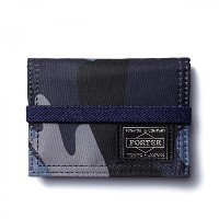 (ヘッド・ポーター) HEADPORTER JUNGLE BAND CARD CASE DARK NAVY