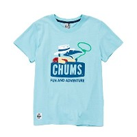 Adventure Booby T-Shirt/Aqua-Womens M