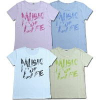 nappalmナップパーム[Traditional wears]/Tシャツ(MUSIC OF LIFE)[半袖][カットソー]