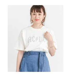 Sonny Label ACDCロゴ ロックTシャツ【アーバンリサーチ/URBAN RESEARCH Tシャツ・カットソー】
