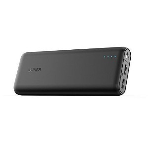 Anker PowerCore 20100 (20100mAh 2ポート 超大容量 モバイルバッテリー) iPhone&Android対応 A1271012