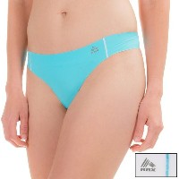 RBX RBX レディース インナー パンティー【Edge No-Show Thong Panties - 2-Pack 】Blue Fin White