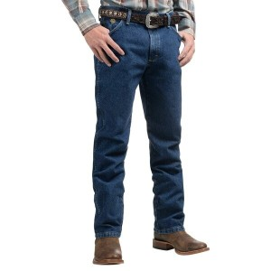 ラングラー Wrangler メンズ ボトムス ジーンズ【George Strait Cowboy Cut Jeans - Original Fit 】Heavyweight Stone Denim
