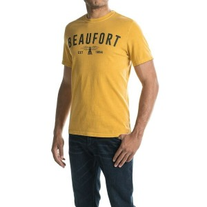バーブァー Barbour メンズ トップス Tシャツ【Affiliate T-Shirt - Short Sleeve 】Mustard