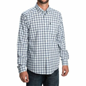 バーブァー Barbour メンズ トップス 長袖シャツ【Bruce Shirt - Tailored Fit, Long Sleeve 】Sea Blue Check