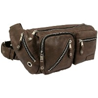 [トリックスター] TRICKSTER KEITH body bag tr24 DBR (D,BROWN)