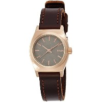 [ニクソン]NIXON SMALL TIME TELLER LE: ROSE GOLD/GUNMETAL/BROWN NA5092001-00 レディース 【正規輸入品】