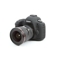 DISCOVERED イージーカバー Canon EOS 5DS / 5Ds R / 5D Mark3 用 液晶保護フィルム &スクリーンプロテクター付 ブラック 5D3-BL