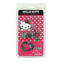 ハローキティ USBメモリー2GB Kingmax-kittyUSB2GBtypeC-pk