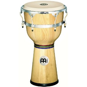 "MEINL Percussion マイネル ジャンベ Floatune Series Wood Djembe 12"" Natural DJW3NT 【国内正規品】"