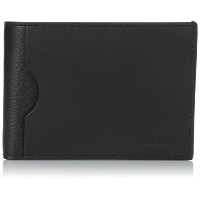 [ジャック・スペード] JACK SPADE 折り財布 GRANT LEATHER INDEX WALLET W6RU0140 001 (BLACK)