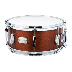 CANOPUS カノウプス スネアドラム 刃(YAIBA) Maple 6.5x14 Snare Drum Antique Brown Mat LQ