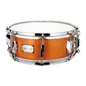 CANOPUS カノウプス スネアドラム 刃(YAIBA) Maple 5.5x14 Snare Drum Antique Amber Mat LQ
