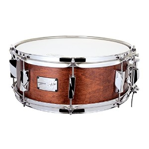 CANOPUS カノウプス スネアドラム 刃(YAIBA) Maple 5.5x14 Snare Drum Antique Brown Mat LQ