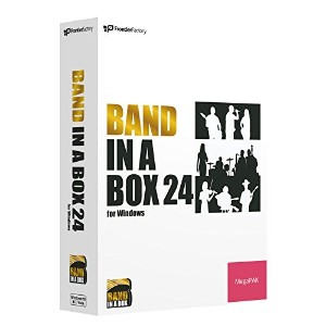 PG Music Band-in-a-Box 24 for Windows MegaPAK