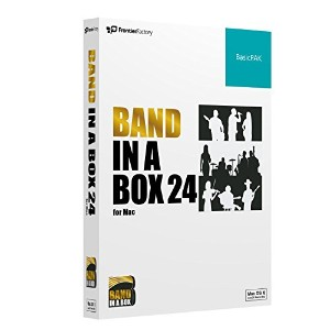 PG Music Band-in-a-Box 24 for Mac BasicPAK